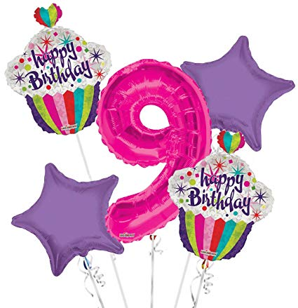 9th birthday balloons clipart clipart images gallery for.