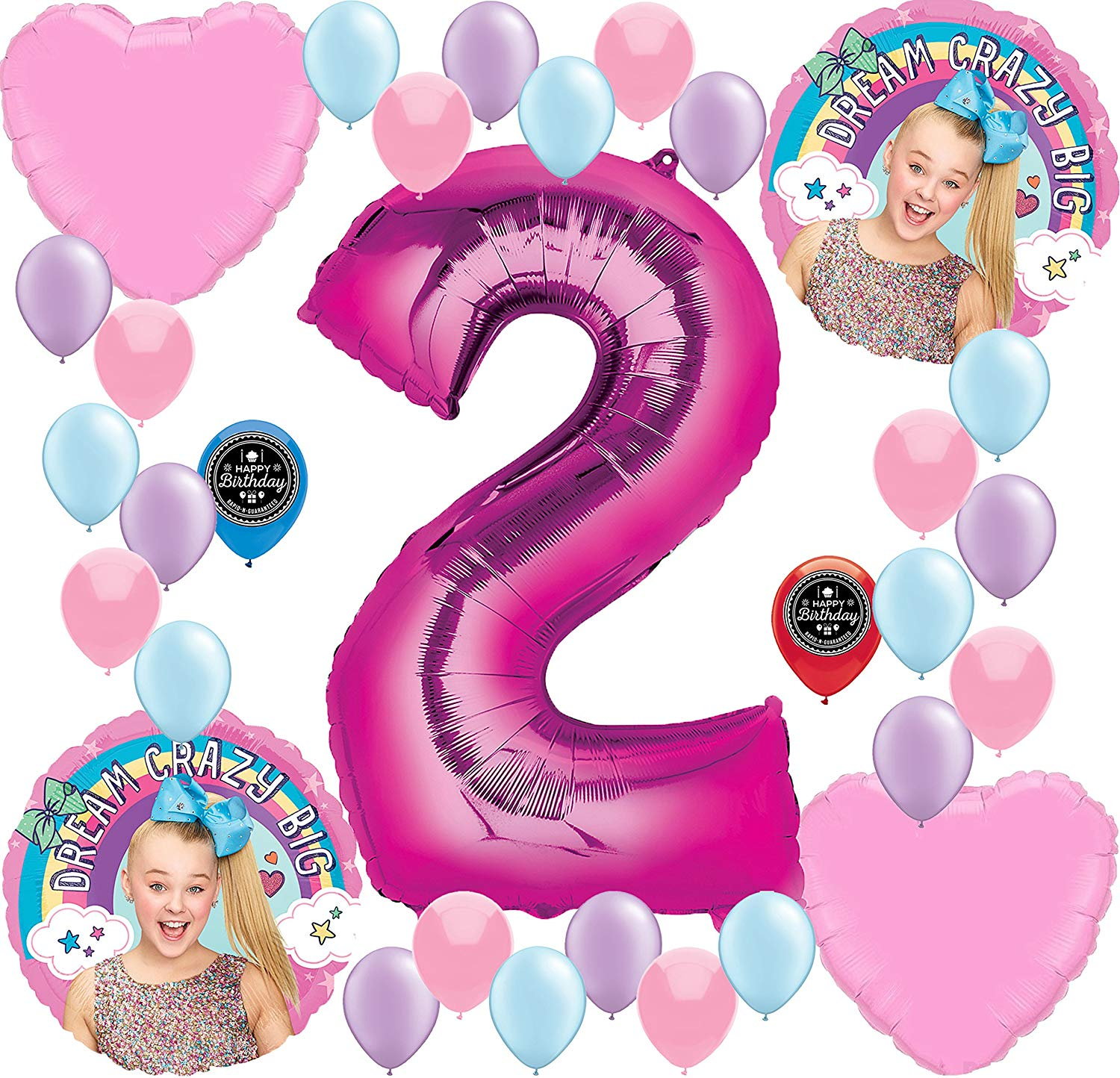 Amazon.com: JoJo Siwa Party Supplies Birthday Balloon.