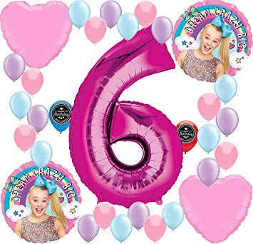 Amazon.com: JoJo Siwa Party Supplies Birthday Balloon.