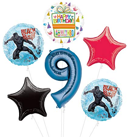 Amazon.com: Black Panther 9th Birthday Party Supplies.