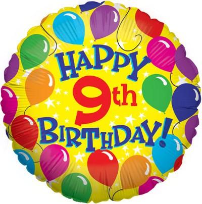 9th birthday clipart 3 » Clipart Portal.