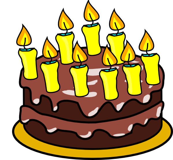 9th Birthday Cake At Clkercom Vector Online clipart N2 free.