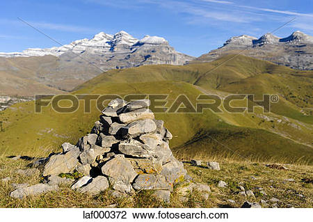 Stock Photo of Spain, Aragon, Central Pyrenees, Canon de Anisclo.