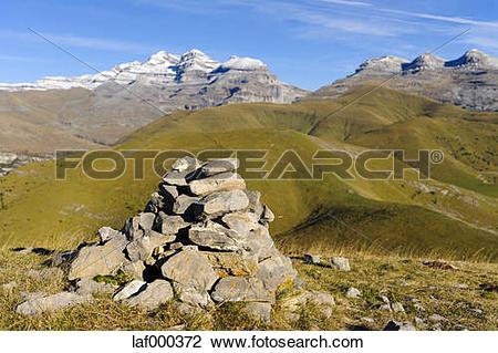 Stock Photo of Spain, Aragon, Central Pyrenees, Canon de Anisclo.