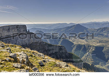 Stock Images of Spain, Aragon, Central Pyrenees, Ordesa y Monte.