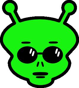 Alien Clip Art.