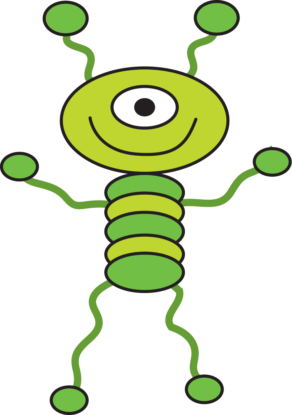 Alien Clipart.