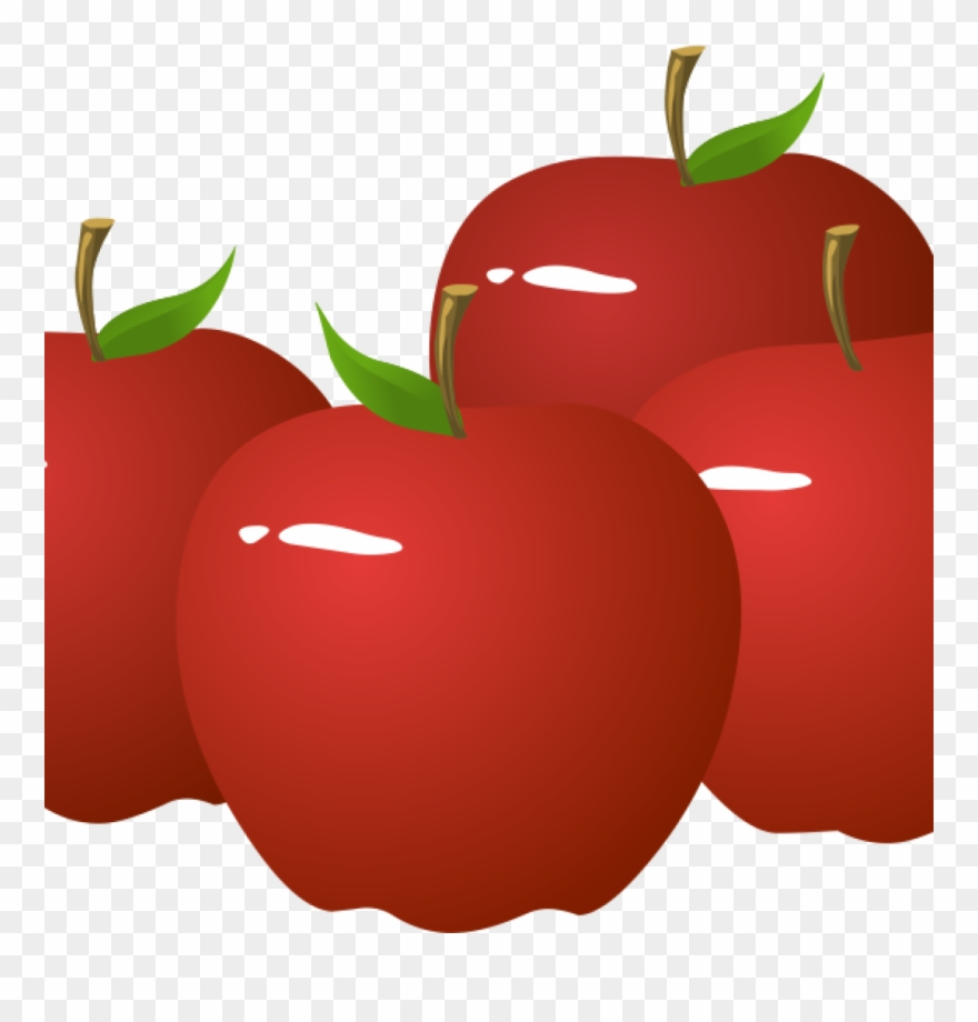 Free Clipart Of An Apple.