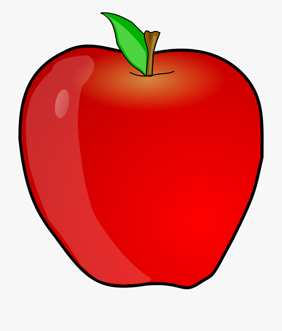 Teacher Apple Clipart Free Clipart Image.