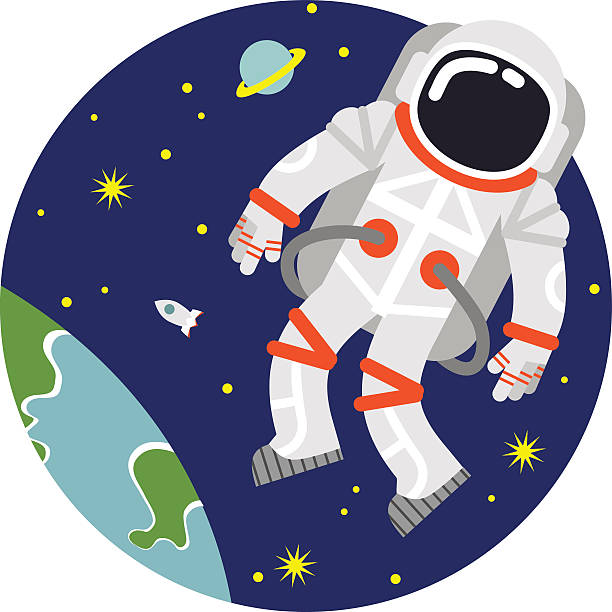 Floating astronaut clipart » Clipart Station.