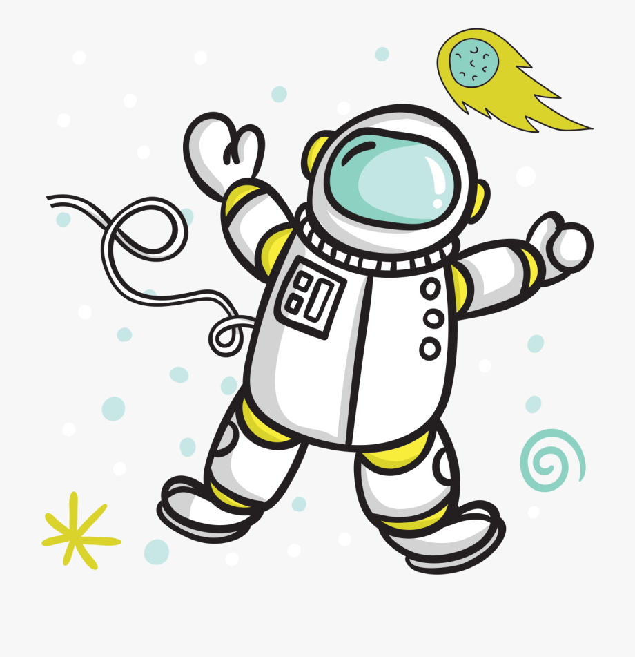 Clipart Of Astronaut.