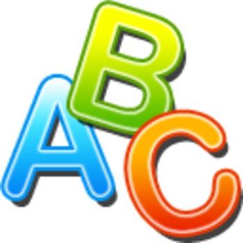 ABC Clipart Icon.