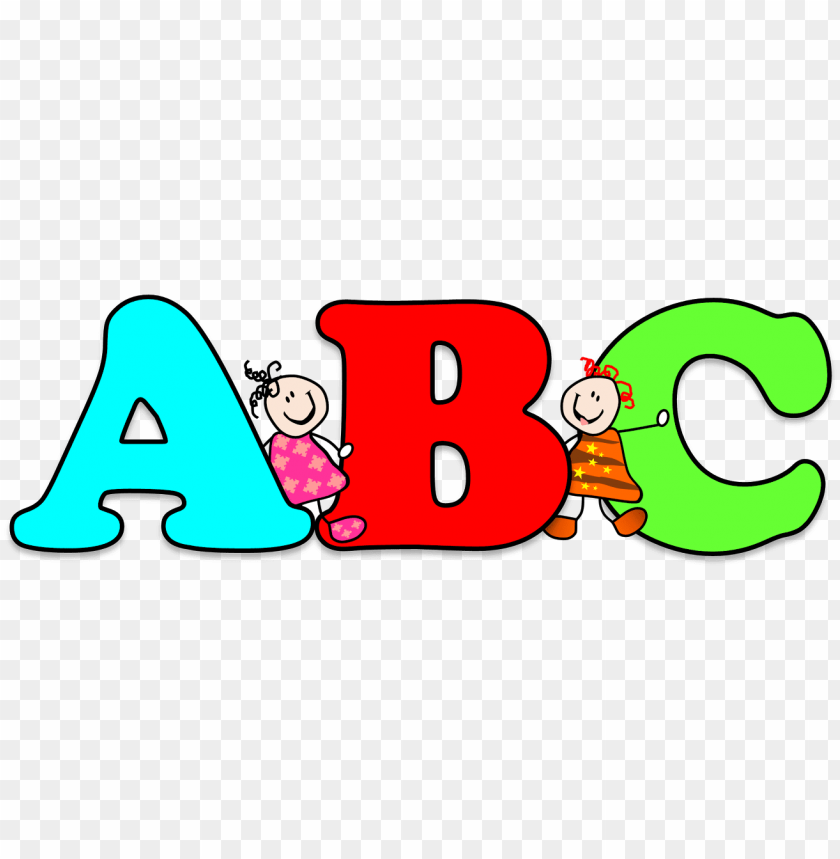 abc clipart PNG image with transparent background.