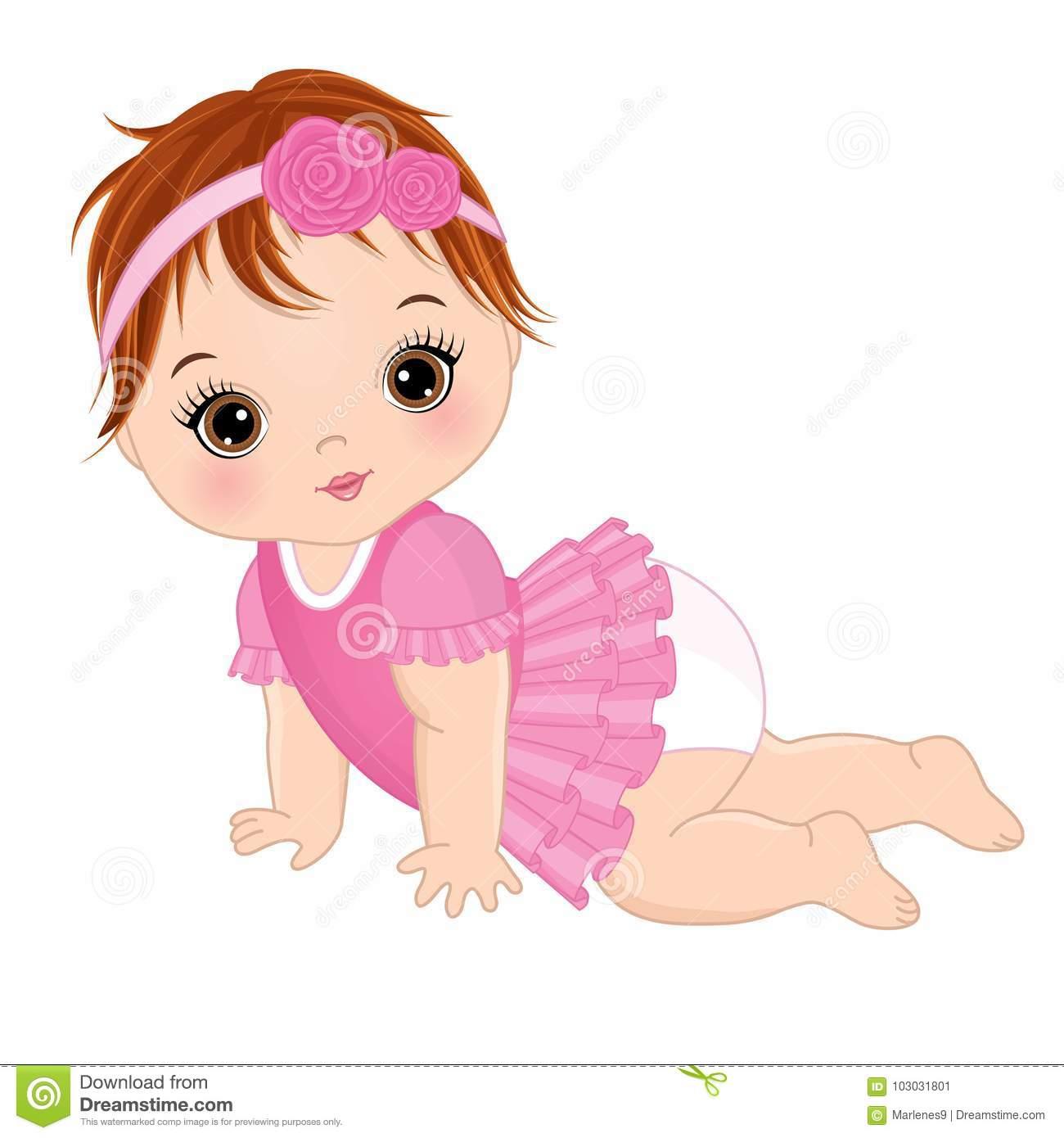 Baby Girl Baby Clipart.