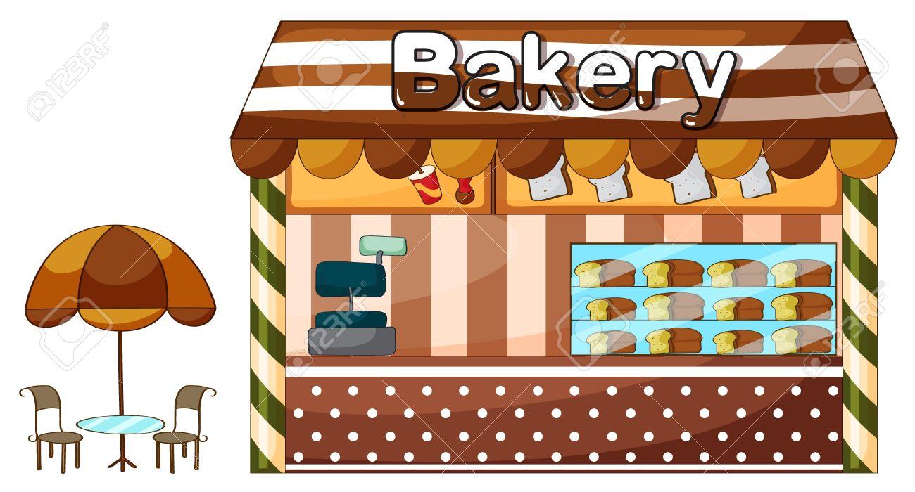 1502 Bakery free clipart.