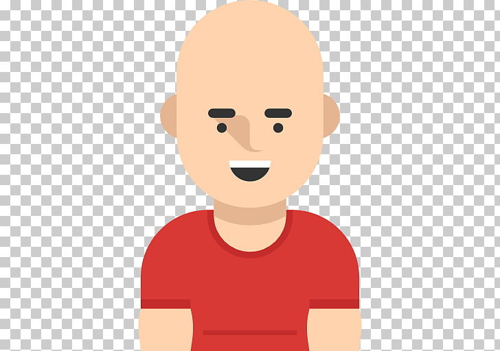 Scalable Graphics Icon, Bald man PNG clipart.
