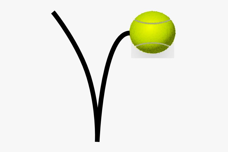 Bouncing Tennis Ball Clipart , Transparent Cartoon, Free.