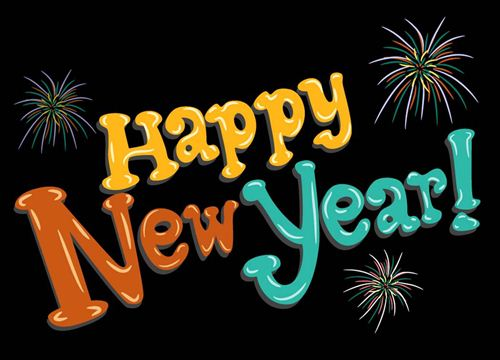 Happy new year 2015 banner clipart.