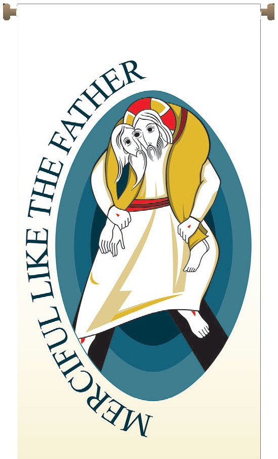 Holy Year of Mercy Banner.