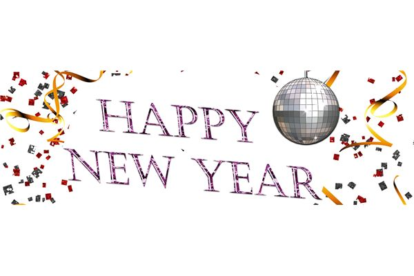New Years Eve Banner Clipart.