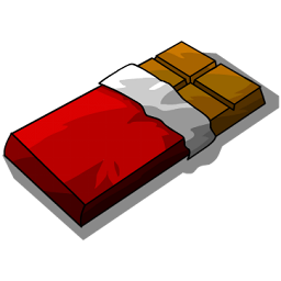 A Bar Of Chocolate Clipart.