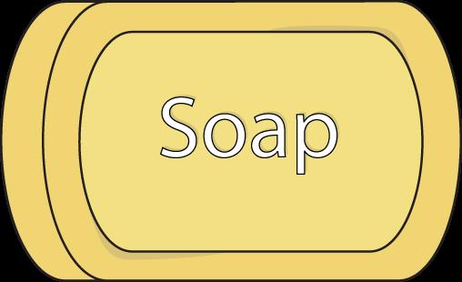 Bar of Soap Clip Art.