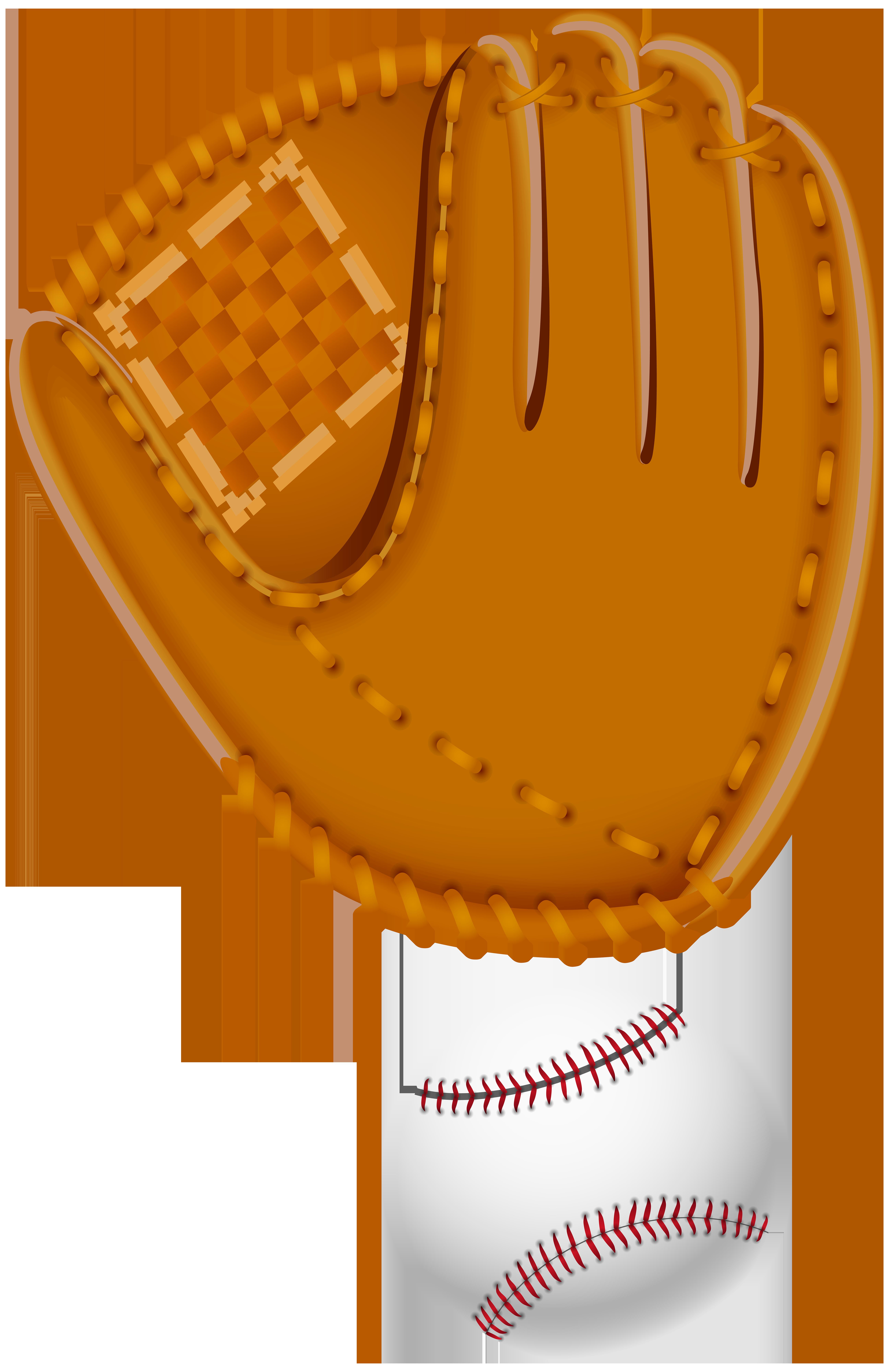 Baseball Glove Clip Art Image.