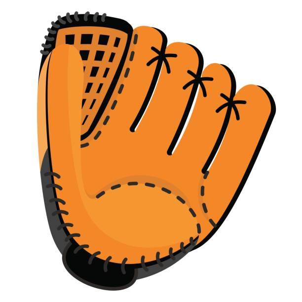 1239 Baseball Glove free clipart.