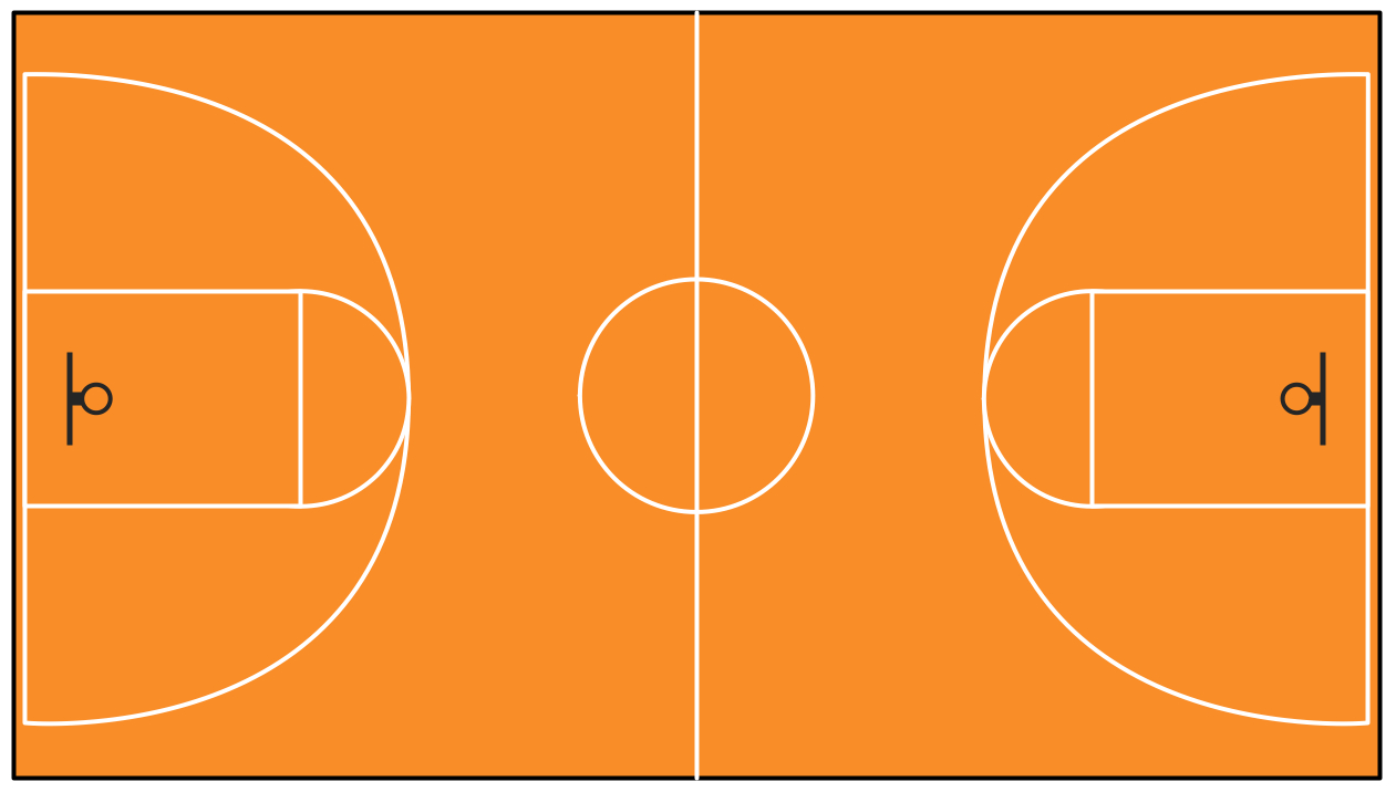 Basketball Court Clipart Free Download Clip Art.
