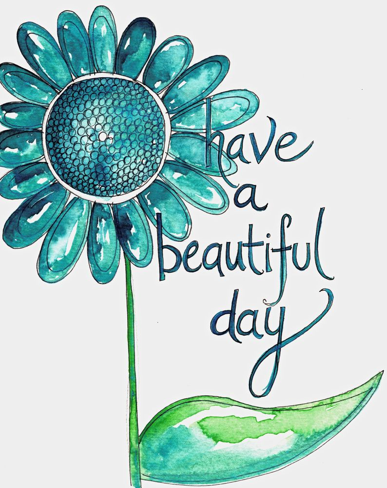 Beautiful Day Clipart.