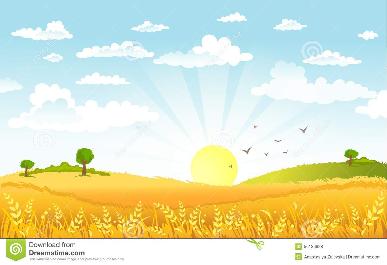 A beautiful morning clipart - Clipground