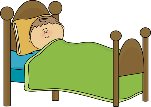 clipart of child\'s bed.