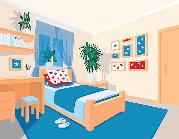 Best Teenage Bedroom Wall Illustrations, Royalty.