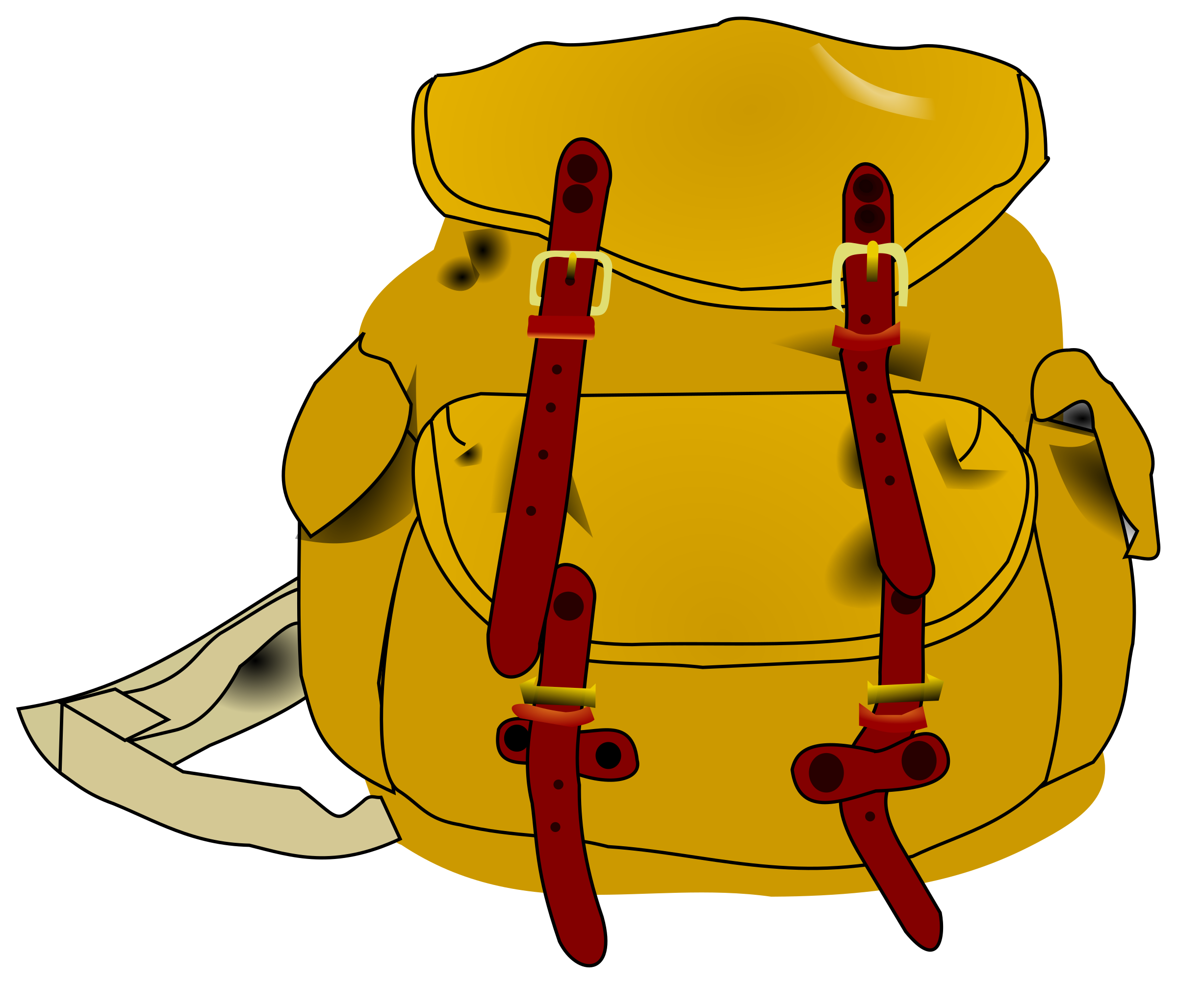 Lunch clipart backpack, Lunch backpack Transparent FREE for.