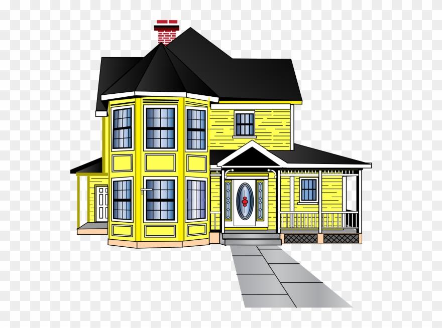 Big House House Clip Art.
