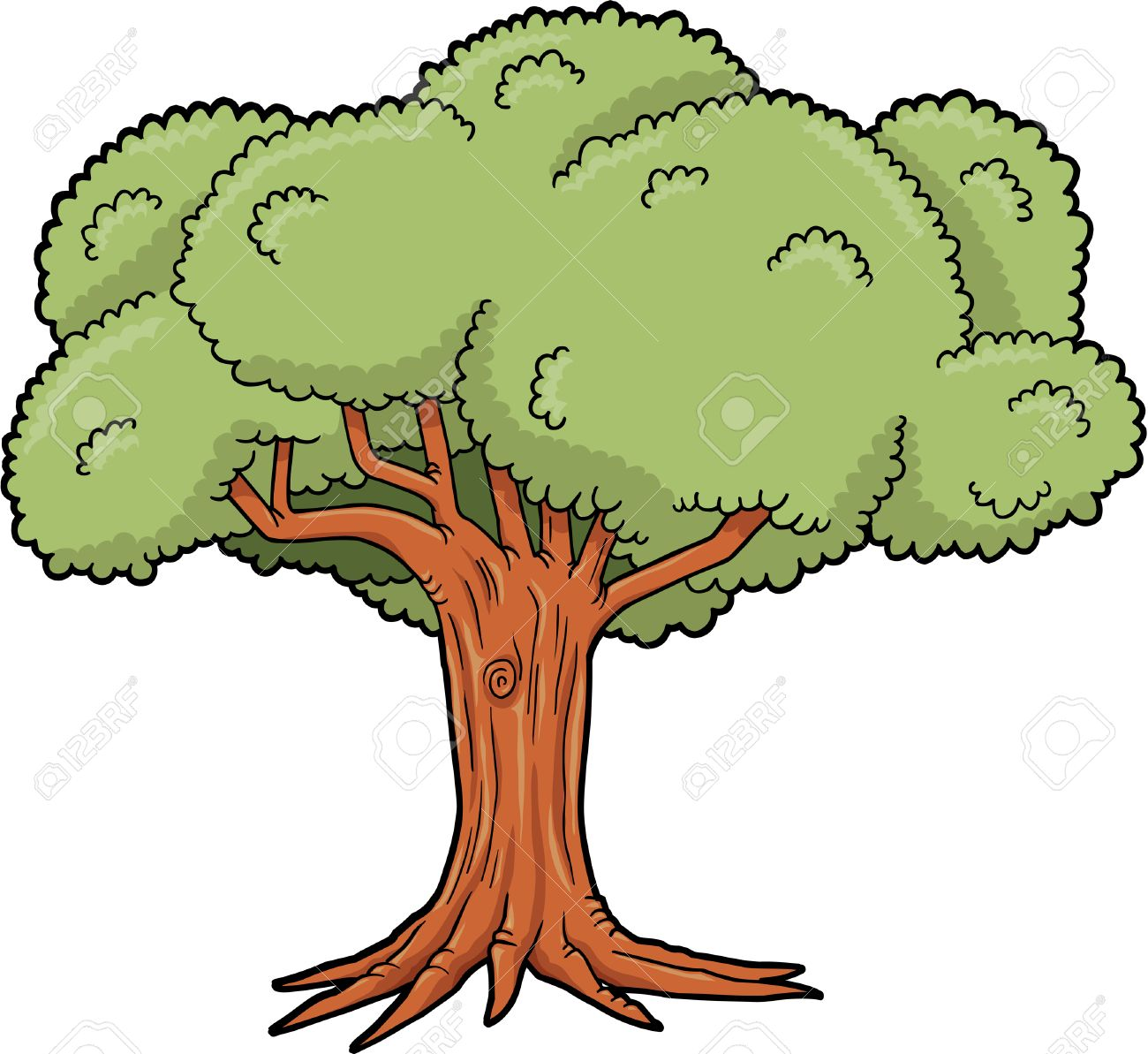 Big tree clipart 5 » Clipart Station.