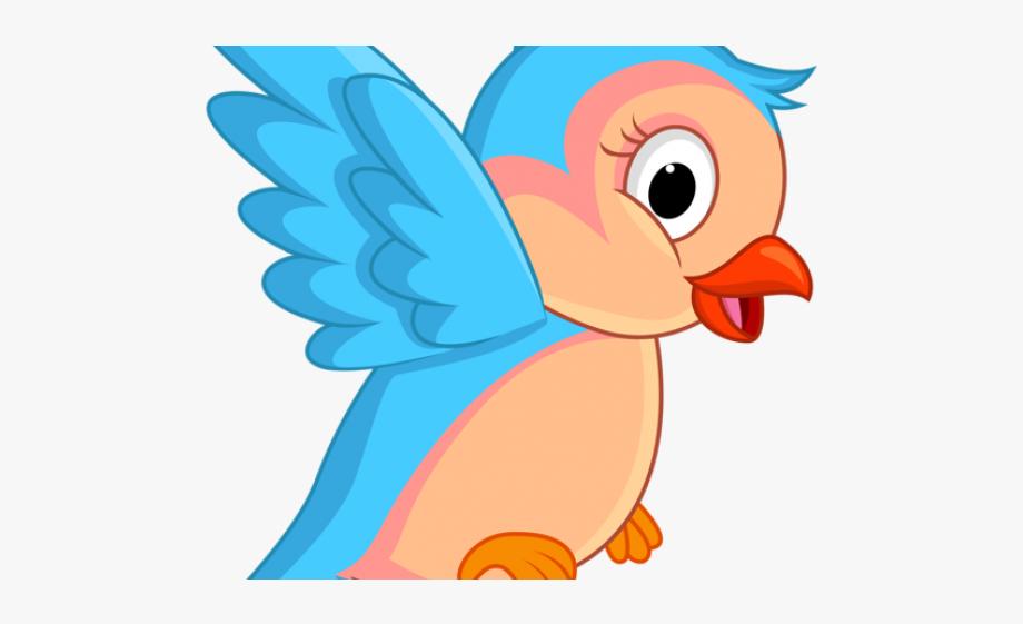 Cartoon Clipart Bird.