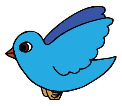 A bird clipart.