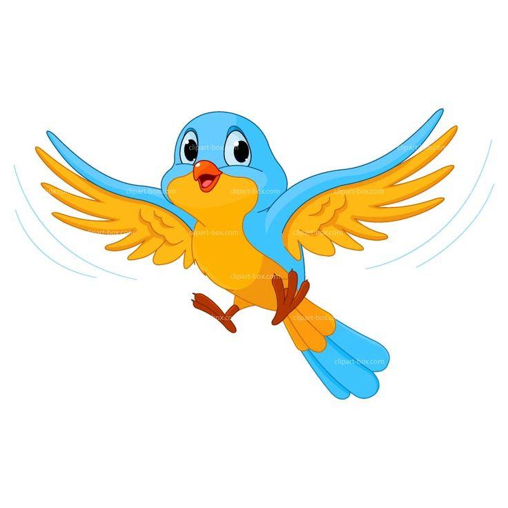 Bird clipart clipart bird cartoon free vector design.