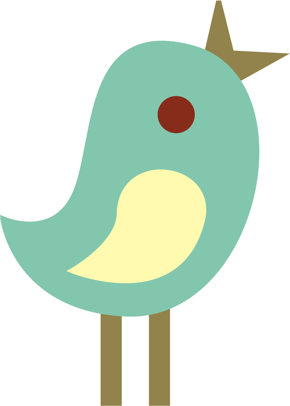 HD Cute Bird Clipart.