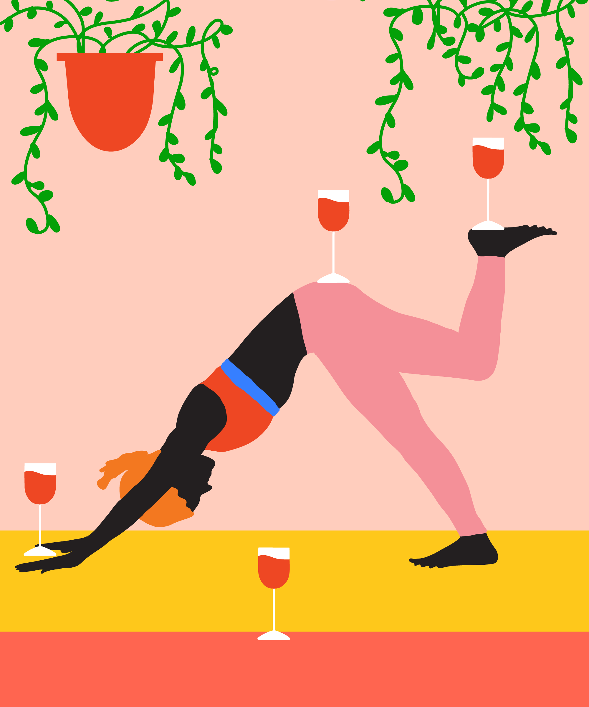 Drunk Yoga Class Review, Alcohol And Exercise Safety.