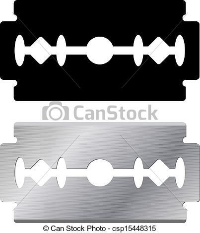 Razor blade clipart #11