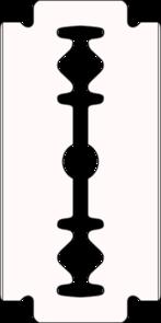 Razorblade Clipart.