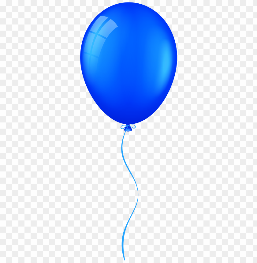 Download blue balloon clipart png photo.