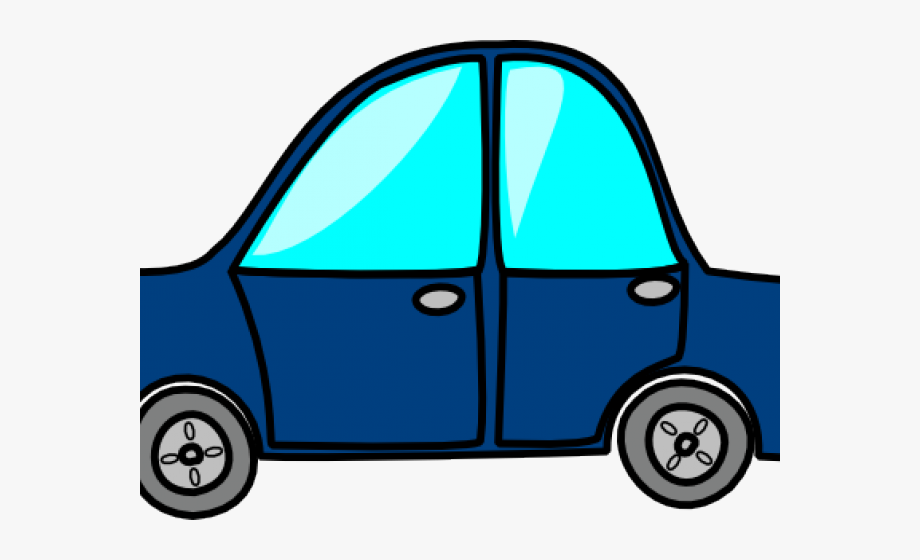 Blue Car Clipart Clear Background.