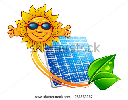 Solar Panel Sun Stock Photos, Royalty.