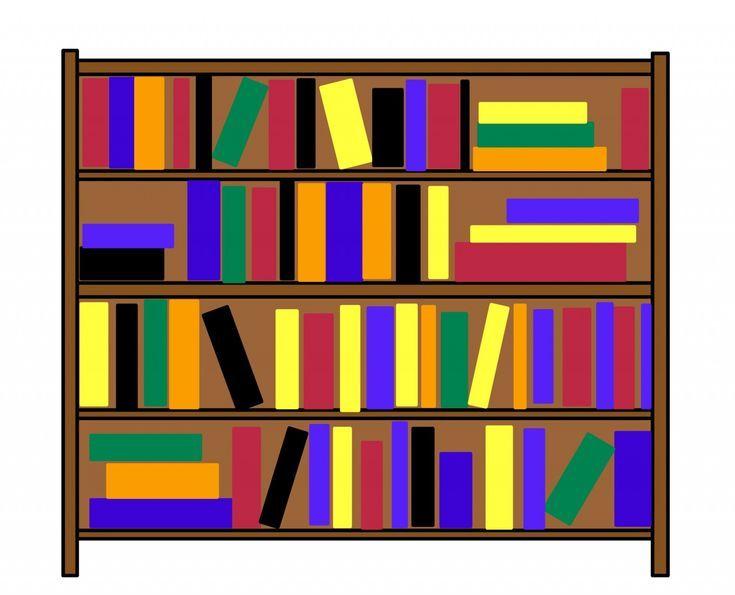 bookcase clipart children s pencil and in color bookcase.