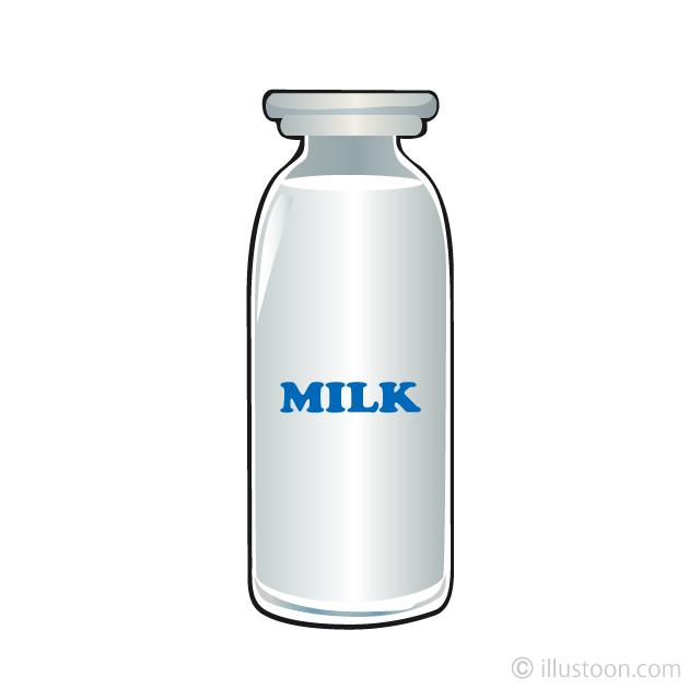 Free Milk Bottle Clipart Image|Illustoon.