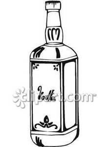 Liquor With Cat Clipart.