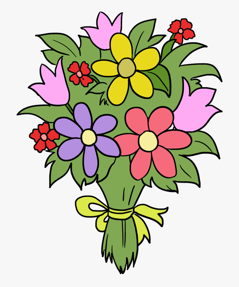 Bouquet Clipart Fun Flower.